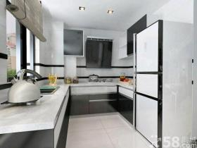 简约时尚黑白配个性公寓装修效果图