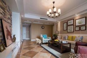 时尚美式客厅装修效果图