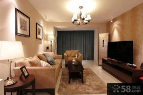 84平现代风格二居室装修设计效果图大全