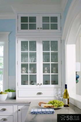 家装小户型厨房橱柜图片