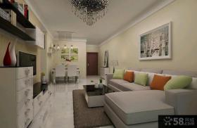 简约风格家庭客厅装修效果图欣赏大全
