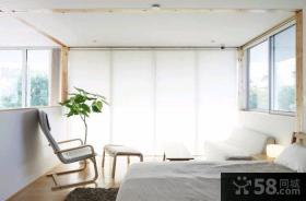 日式宜家风格复式楼装修效果图大全2014图片