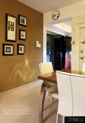 现代风格客厅沙发背景墙设计