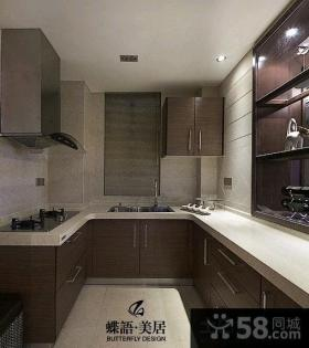 现代风格三室一厅室内装修效果图
