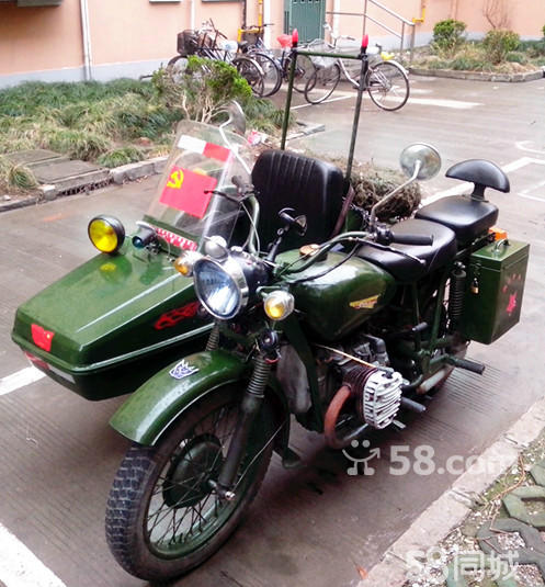 长沙二手摩托车58_【图】长江750边三轮 - 二手摩托车 - 上海58同城