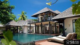 现代海景房外观设计别墅装修效果图片大全