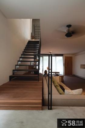 现代家庭设计楼梯图片