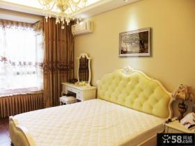 欧式小别墅主卧室设计图片