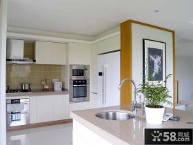 宜家设计装修厨房隔断墙图片
