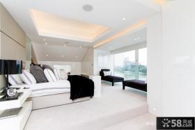 白领复式公寓卧室隔断设计