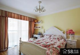 优质简欧式卧室装修效果图大全2013图片