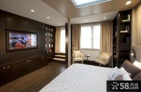 卧室电视墙装修效果图大全2014图片