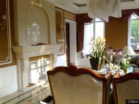 欧式别墅室内装饰效果图