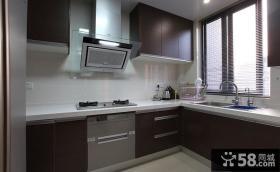 现代厨房整体橱柜装修设计图片
