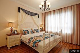 美式风格家居主人卧室图片