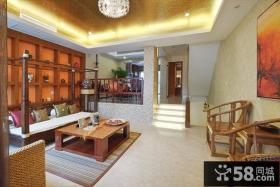 中式古典风格客厅装修