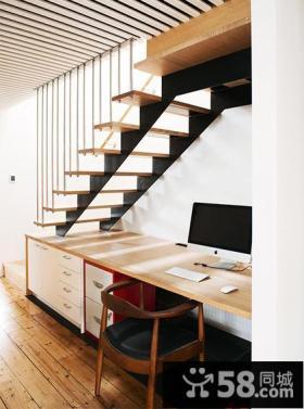 清新混搭复式家居装潢设计