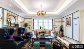 奢华欧式别墅室内家居装饰效果图