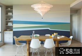 小户型餐厅空间创意设计效果图
