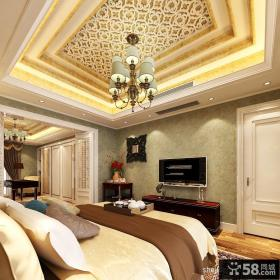 别墅主卧装饰设计图片