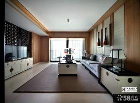 新中式风格客厅装修效果图片