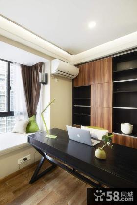 现代家居书房办公室装修设计