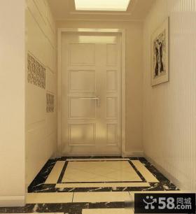 欧式家居玄关地板设计