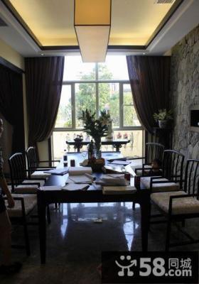 豪华古典中式餐厅设计图