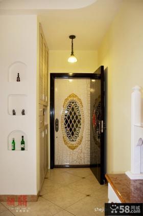 小户型室内玄关设计