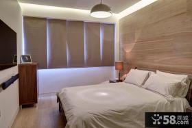 现代风格公寓卧室房间装修效果图