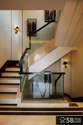 欧式家居室内楼梯装修图片