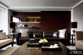 黑色现代风格室内设计图