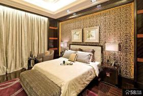 现代欧式卧室装修样板间设计