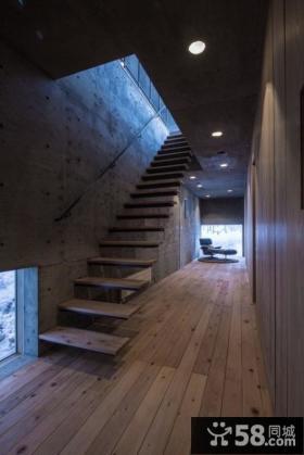 复式别墅楼梯效果图