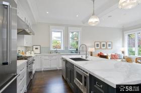 小户型开放式厨房装修效果图大全2015图片