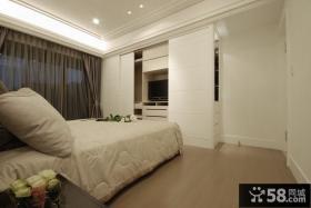 现代时尚卧室装修展示案例
