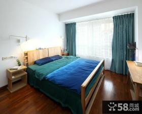 现代风格小户型简单装修卧室效果图
