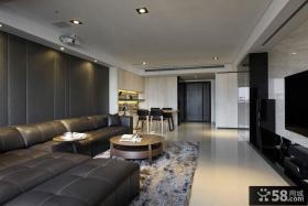 小户型后现代客厅装修实例