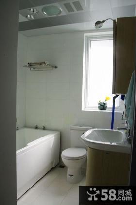 93平方的三室两厅卫生间装修效果图大全2014