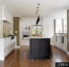 欧式厨房装修效果图 厨房装潢图片