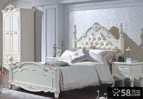 欧式豪华卧室家具图
