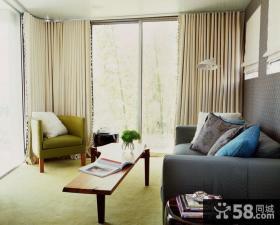 80后白领90平米小户型客厅装修效果图大全2014图片