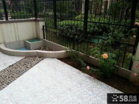 家庭装修室外阳台花园效果图