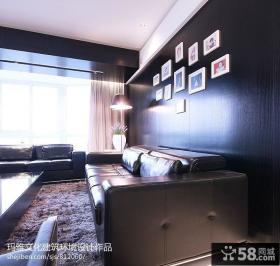 家装客厅沙发背景墙效果图