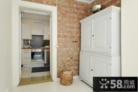 复式楼厨房玄关装修效果图大全2014图片