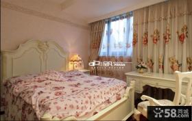欧式田园风格卧室板式家具图片