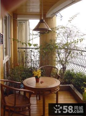 花园阳台装修效果图片