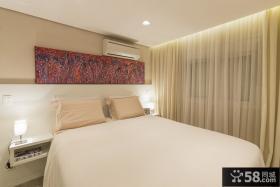 圣保罗复式小公寓卧室设计