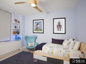 90平米小户型时尚室内儿童房装修效果图大全2012图片