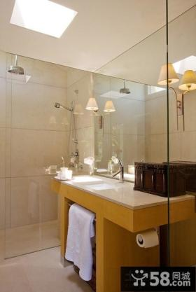 2014现代简约风格家装卫生间图片